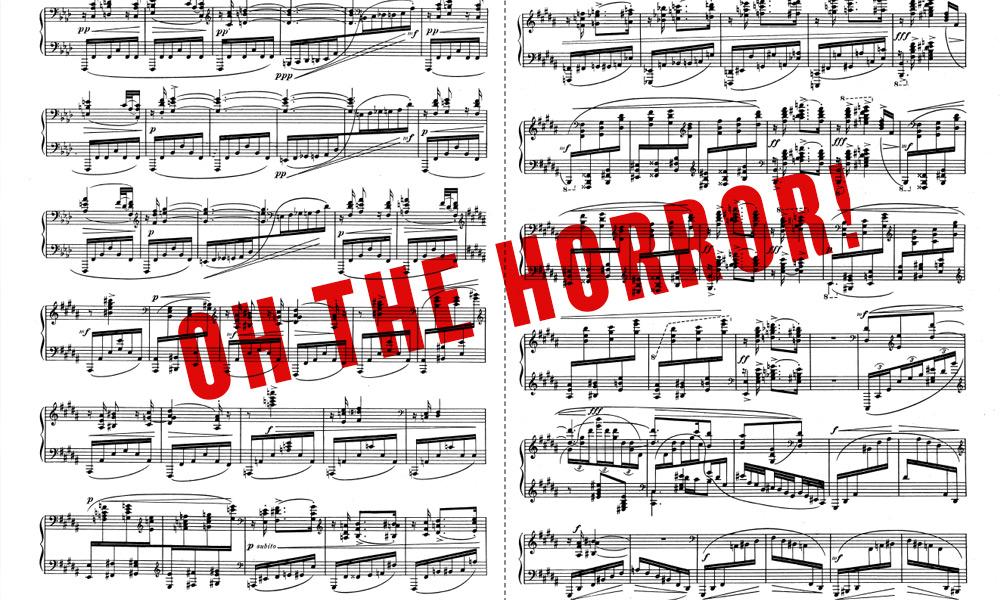 All Music Chords rachmaninoff sheet music : Andrew Novialdi Design | Article