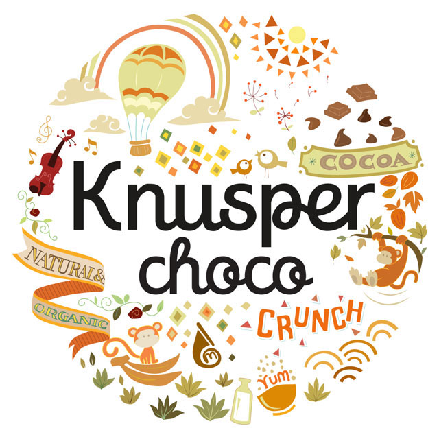Knusper Organic Muesli Sweet Chocolate Granola Healthy Modern Packaging