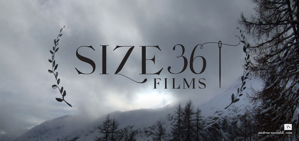 Size 36 Films Production Company Logo Visual Identity Modern Sleek