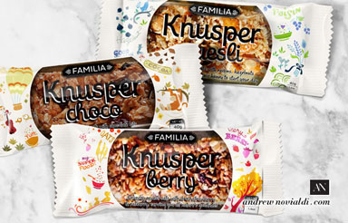Knusper Granola Muesli Energy Bar Grain For Easy To Go Breakfast