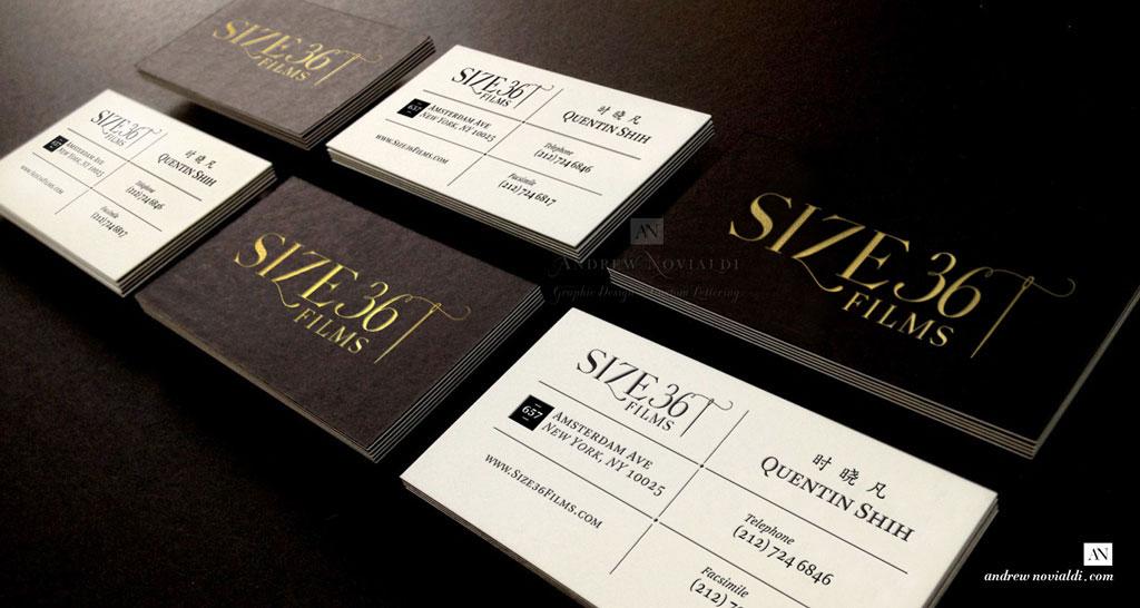 Andrew Novialdi Design | Size 36 Film Logo Identity