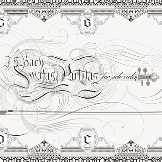 Bach Sonatas and Partitas for Solo Violin Classical Music Poster Artprint